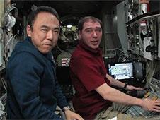 [ISS] Expedition 29: Déroulement de la mission. - Page 3 Sans_397