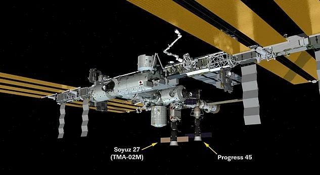 [ISS] Expedition 29: Déroulement de la mission. - Page 3 Sans_416