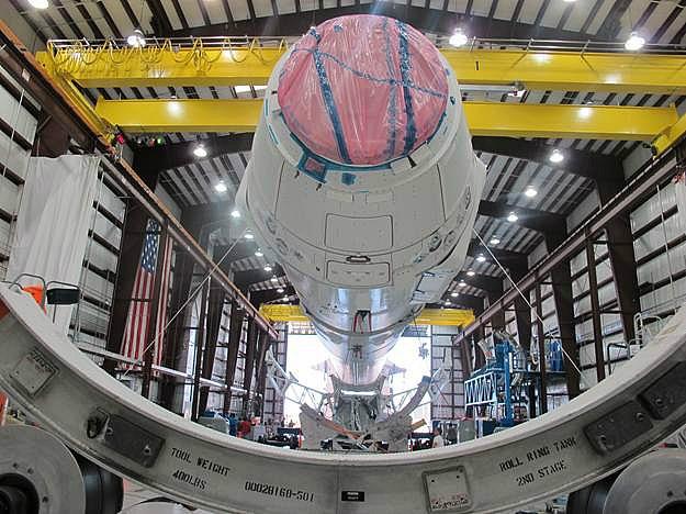 Falcon 9 / Dragon COTS-2: Préparatifs (Lancement le 19.05.2012 ) - Page 6 Sans_804