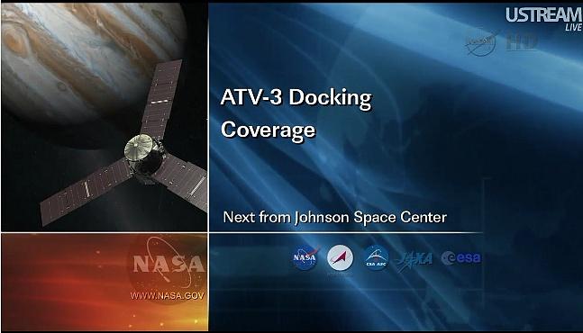 ATV-3: Amarrage, mission et fin de mission Sans_826