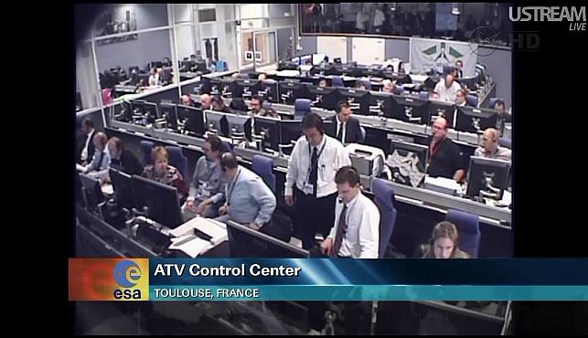 ATV-3: Amarrage, mission et fin de mission Sans_827