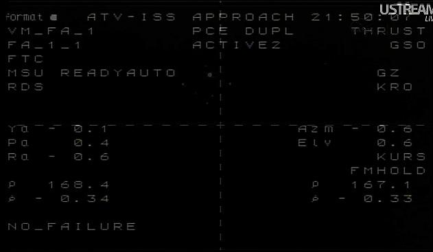 ATV-3: Amarrage, mission et fin de mission Sans_829