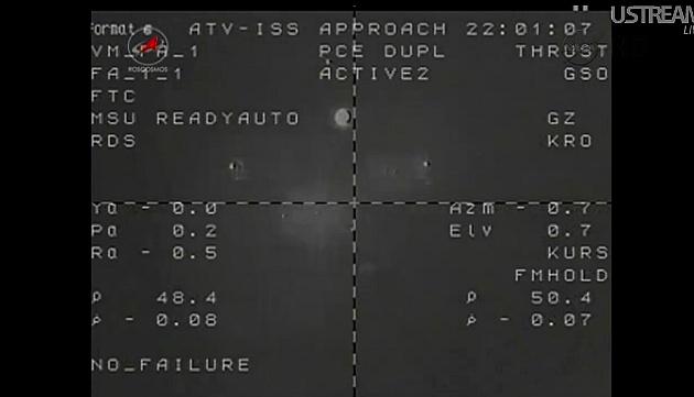 ATV-3: Amarrage, mission et fin de mission Sans_830