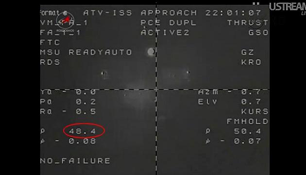 ATV-3: Amarrage, mission et fin de mission Sans_831