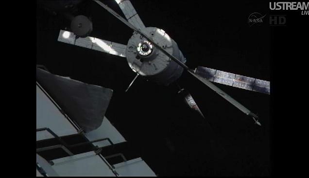 ATV-3: Amarrage, mission et fin de mission Sans_834