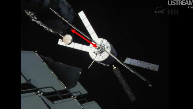ATV-3: Amarrage, mission et fin de mission Sans_836