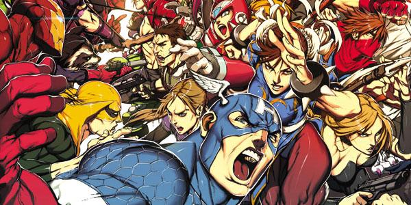 [Artbook] Marvel VS Capcom: Official Complete Works Mvc-ma10