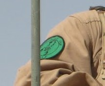 Patches worn by New Iraq Army. 00710
