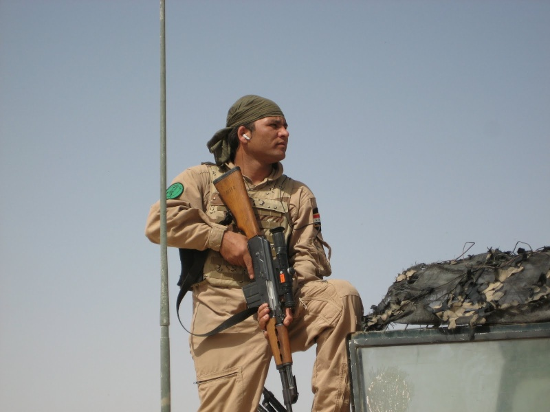 Patches worn by New Iraq Army. 007_co10