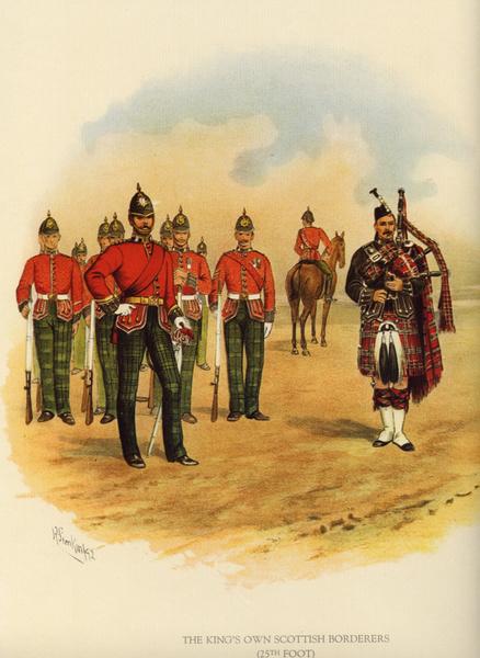 Veste du King's Own Scottish Borderers 6036_110