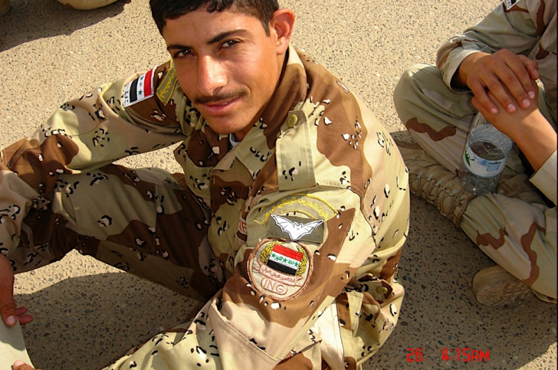 Patches worn by New Iraq Army. Captur18