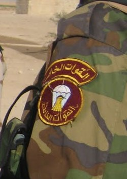 Patches worn by New Iraq Army. Img_0111