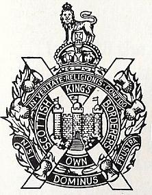 Veste du King's Own Scottish Borderers Kosb11