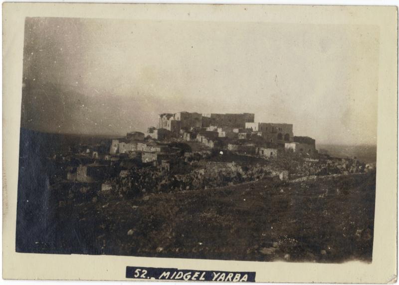 Album photos d'un soldat britannique en Egypte, Palestine, Syrie (,..) en 1918 Midgel10