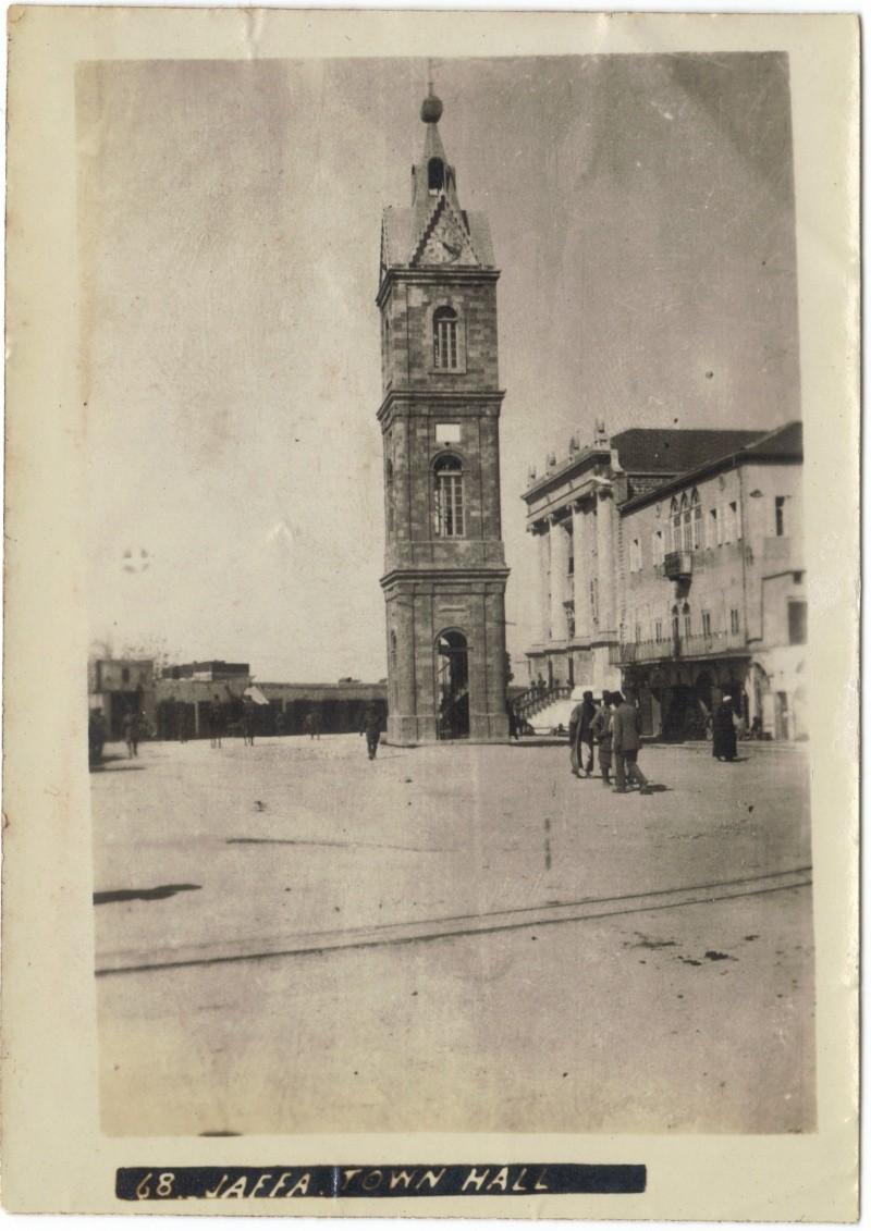 Album photos d'un soldat britannique en Egypte, Palestine, Syrie (,..) en 1918 Town_h10