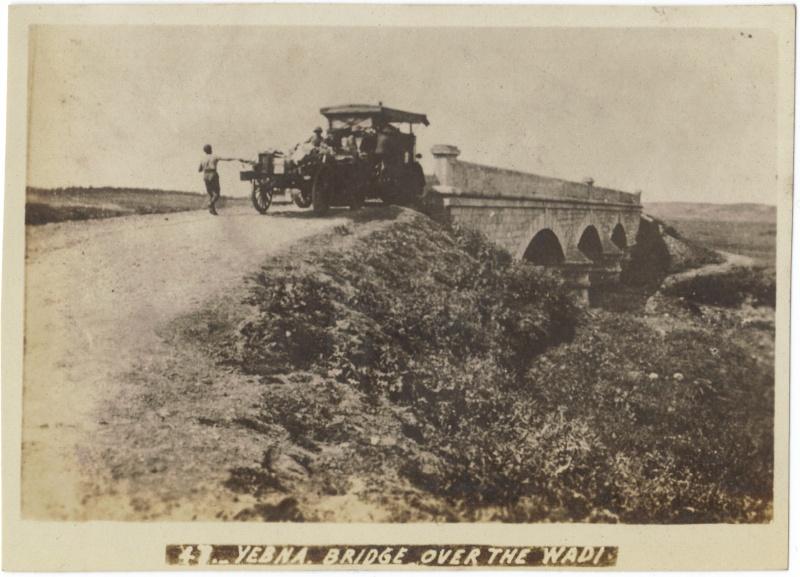 Album photos d'un soldat britannique en Egypte, Palestine, Syrie (,..) en 1918 Yebna_10