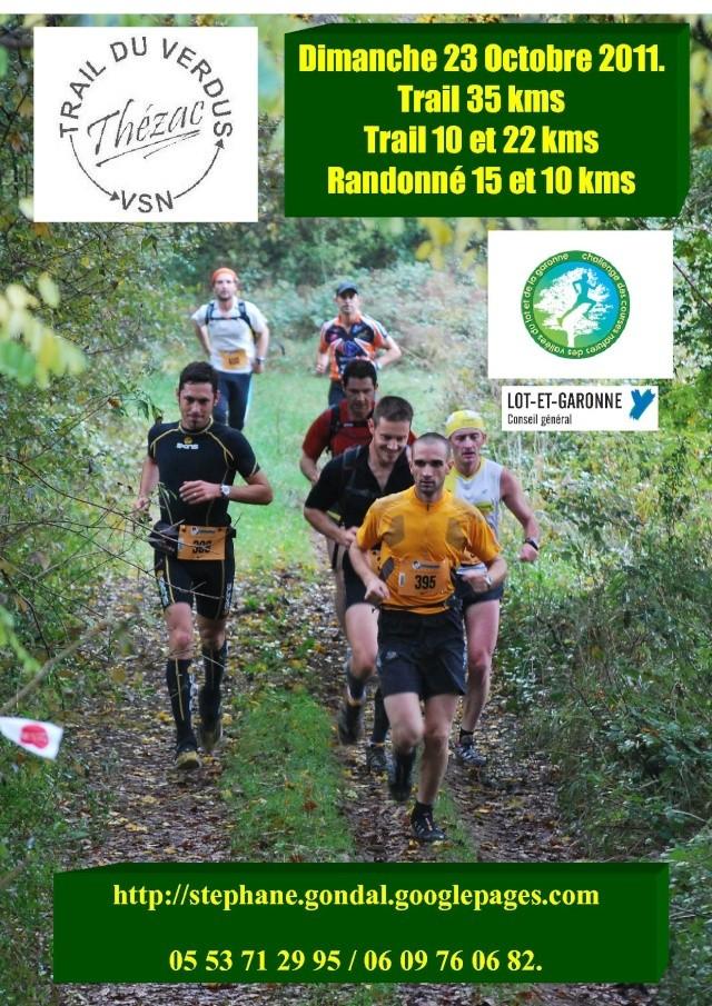 Trail du Verdus (Thézac 47), 23/10/2011 Affich10