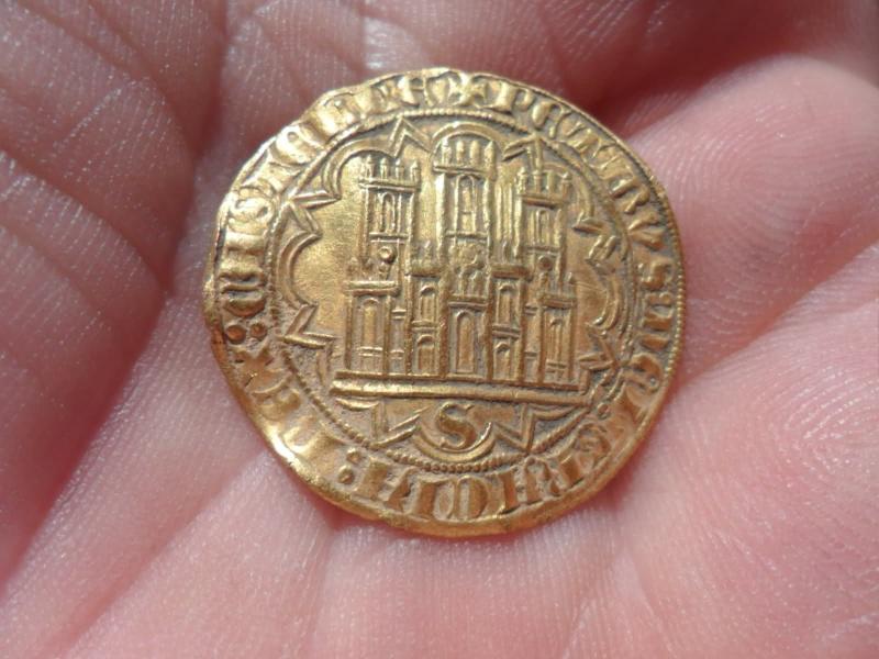 Dobla de 35 maravedis de Pedro I (Sevilla, 1350-1369). Dobla210