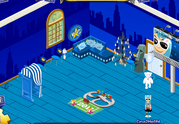 My Smurf room! Bluw10