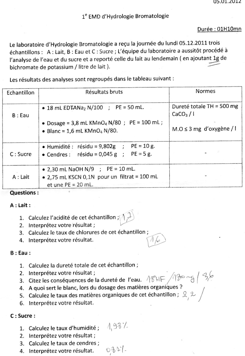 Exercices Et Sujets D Examens Hydro Page 11
