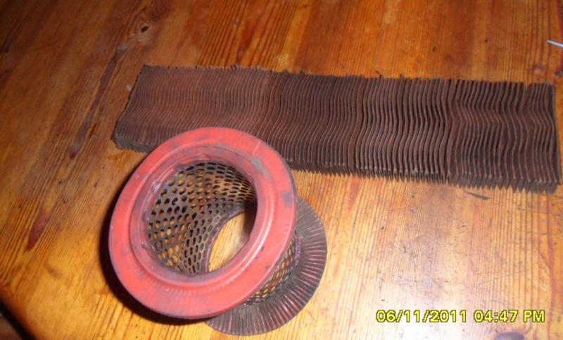 Fabrication d'un filtre à air pour /5 ou /6 à l'Africaine  ;-) Sam_2823