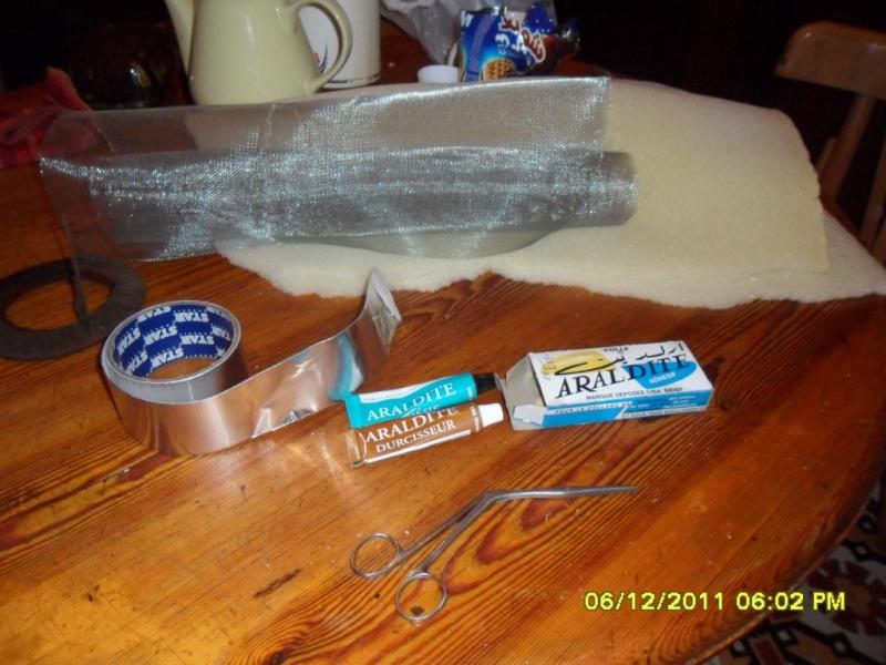 Fabrication d'un filtre à air pour /5 ou /6 à l'Africaine  ;-) Sam_3116