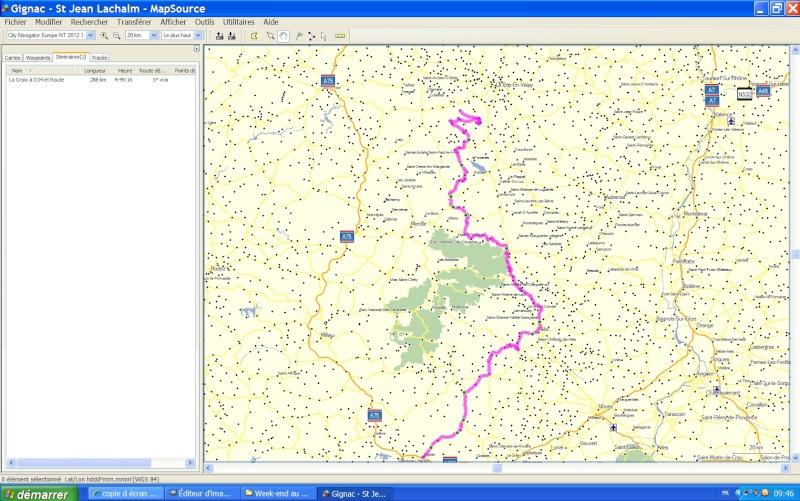 Itinéraire personnalisé sur GPS Zumo 660 Tutori10