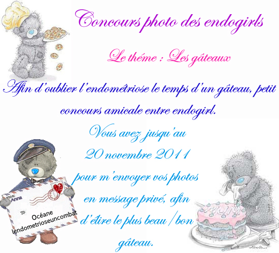 Concours photo des endogirls n°1 (via facebook) Affich10