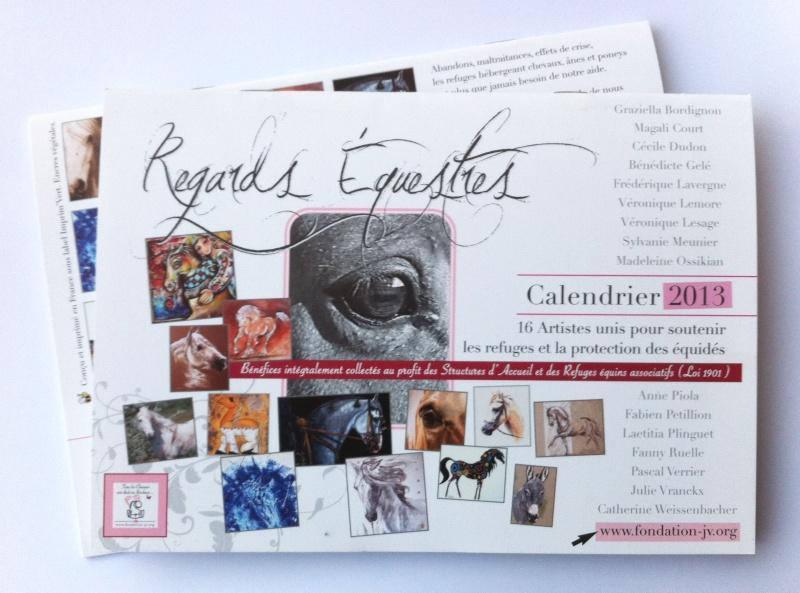 Calendriers A.F.J.V 2013 : 16 artistes réunis pour la cause animale  Afjv_c10