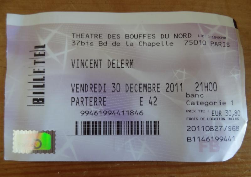 Vincent Delerm aux Bouffes du Nord, du 6 au 30 décembre 2011 (SPOILER !!!) - Page 3 710