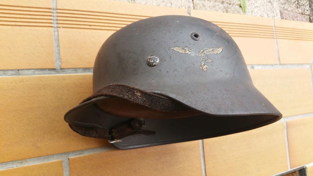 Les casques de la Luftwaffe 20160810
