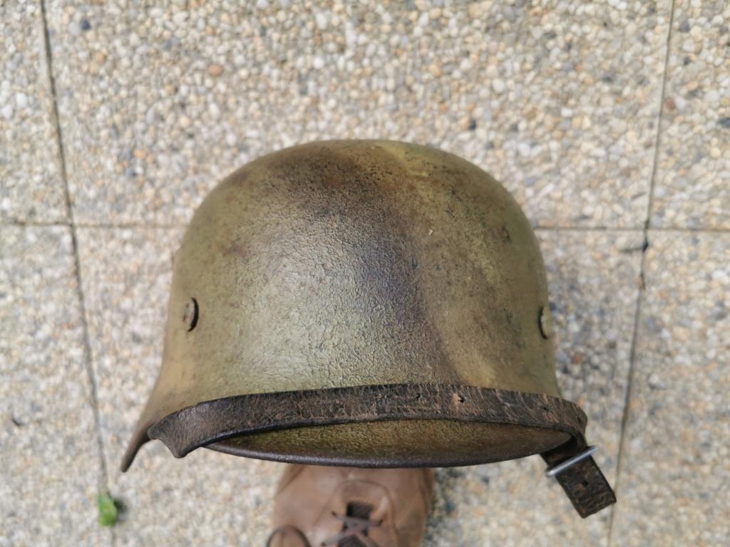 Le petit dernier : casque allemand modèle 35 camo Normandie Img_2018
