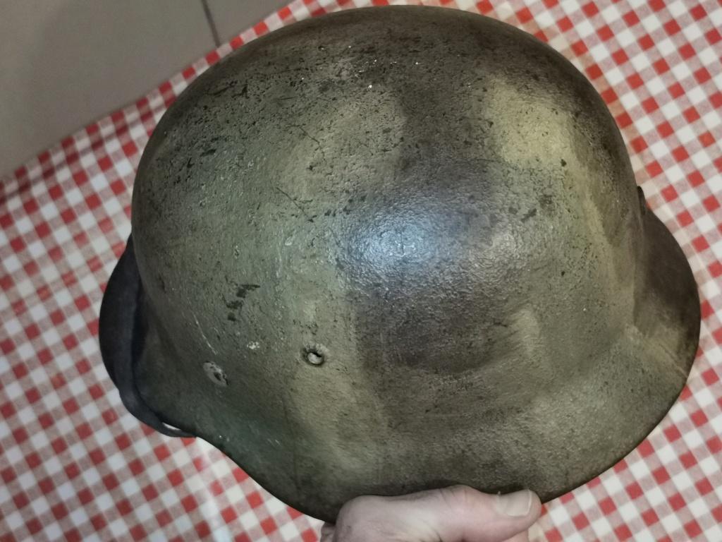 Le petit dernier : casque allemand modèle 35 camo Normandie Img_2026