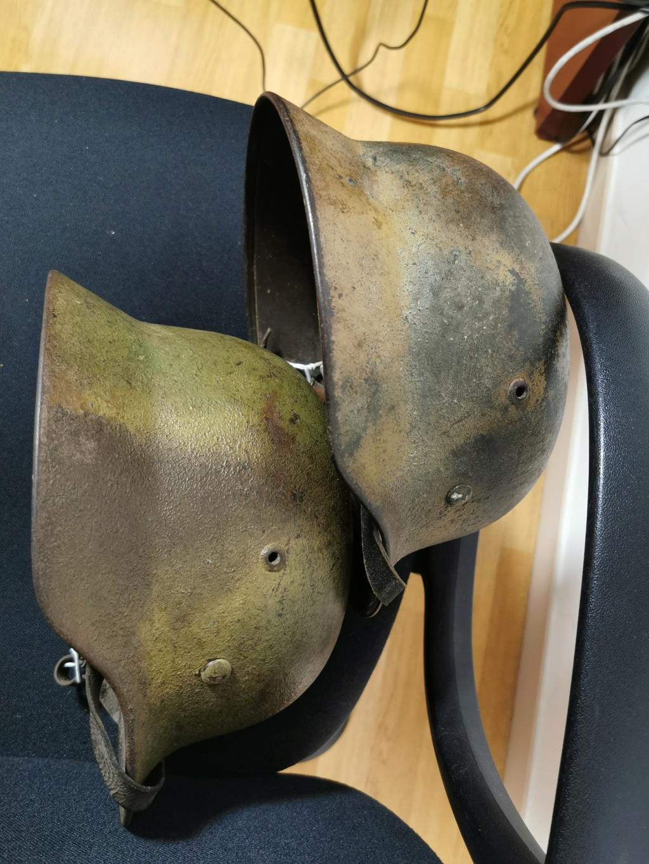 Le petit dernier : casque allemand modèle 35 camo Normandie Img_2039