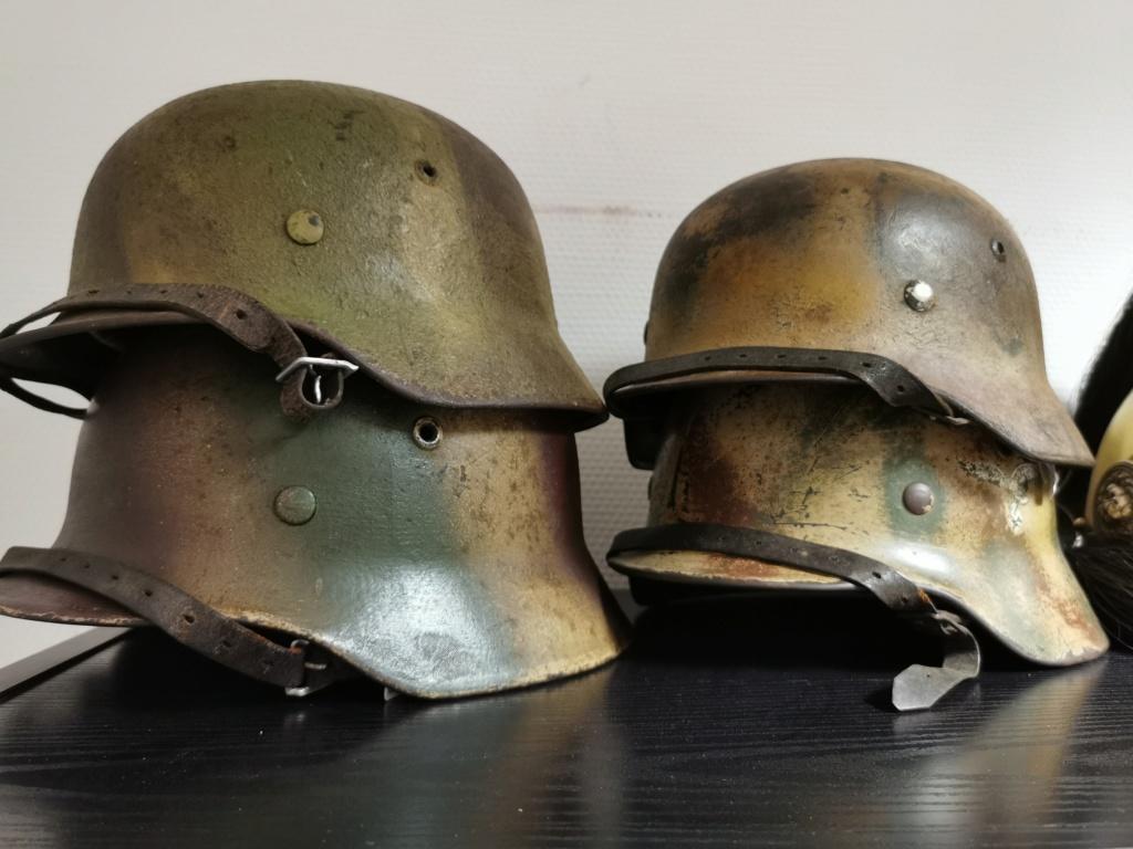 Le petit dernier : casque allemand modèle 35 camo Normandie Img_2042
