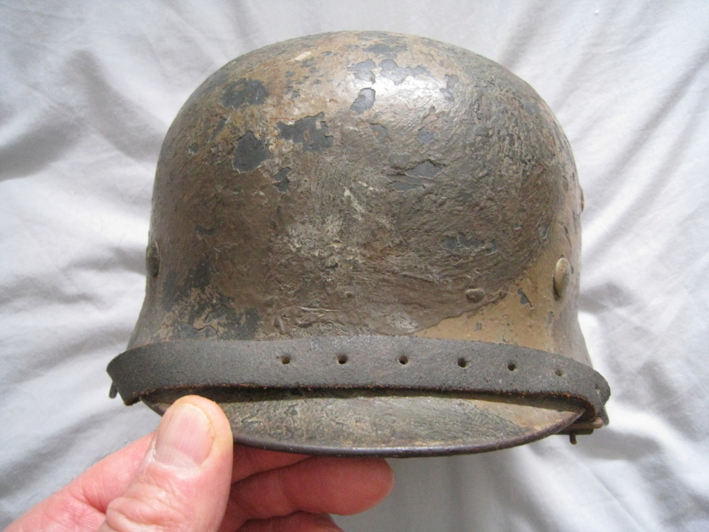 Petite rentrée de casques allemands : M35 camo  Img_3116