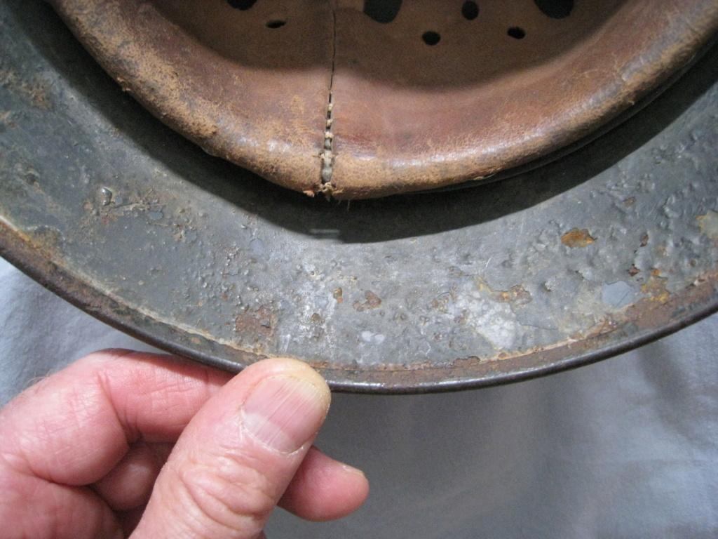 Petite rentrée de casques allemands : M35 camo  Img_3914