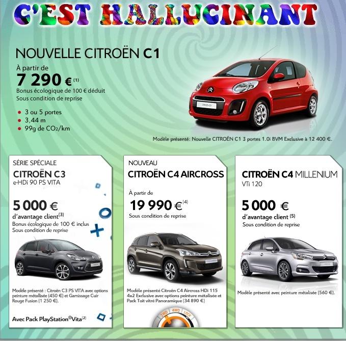 [ACTUALITE] Les promotions de Citroën - Page 4 T101710