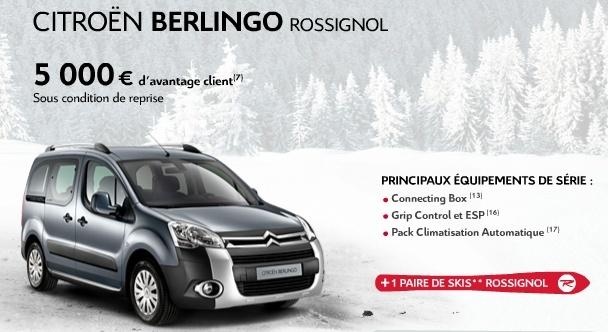 [SERIE SPECIALE] Berlingo Rossingol T11110