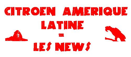 [INFORMATION] Citroën/DS Amérique Latine - Les News T24910