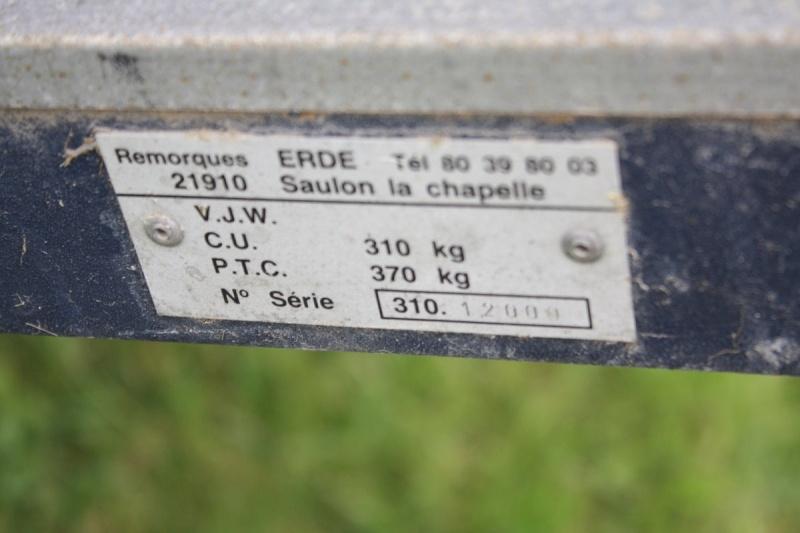 Remorque ERDE avec couvercle metal VENDUE Img_7624