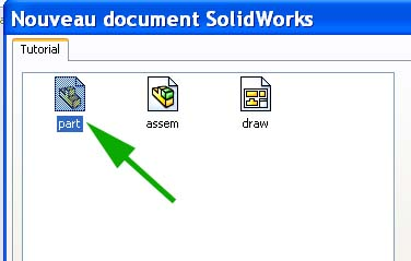 Débuter avec SolidWorks 01_0210
