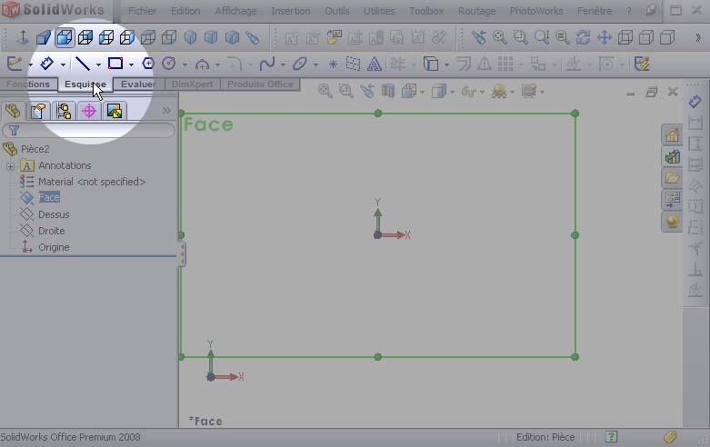 Débuter avec SolidWorks 01_0410