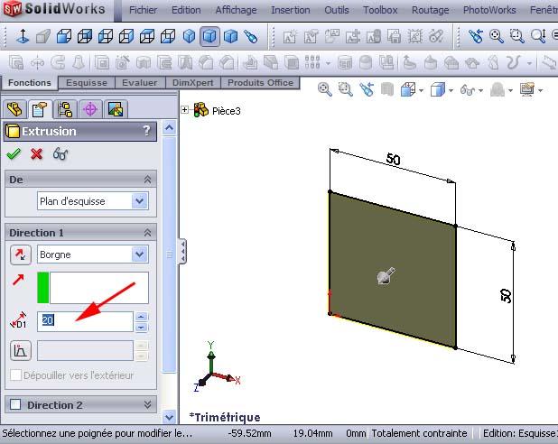 Débuter avec SolidWorks 01_1110