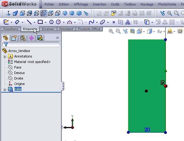 Débuter avec SolidWorks 02-0210