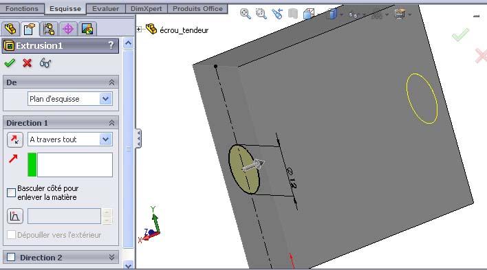 Débuter avec SolidWorks 02-0910