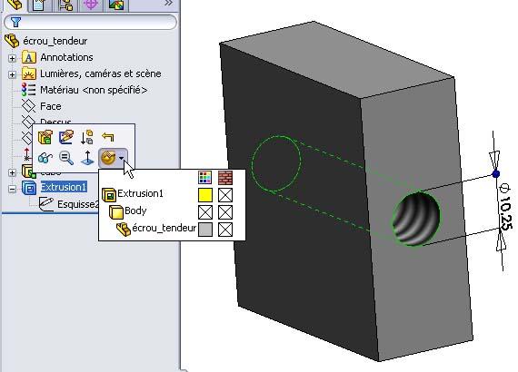 Débuter avec SolidWorks 03-0210