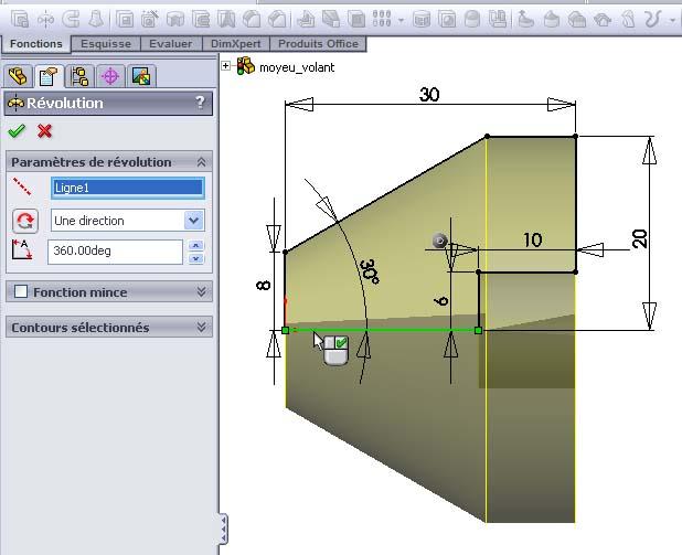 Débuter avec SolidWorks 05-0310