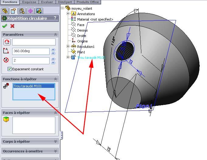 Débuter avec SolidWorks 05-1010
