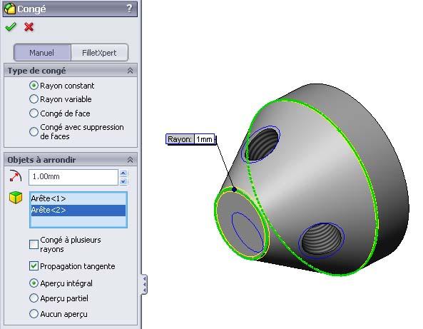 Débuter avec SolidWorks 05-1310